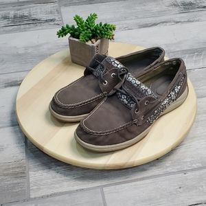 Sperry Boat shoes Gray Size 9.5
